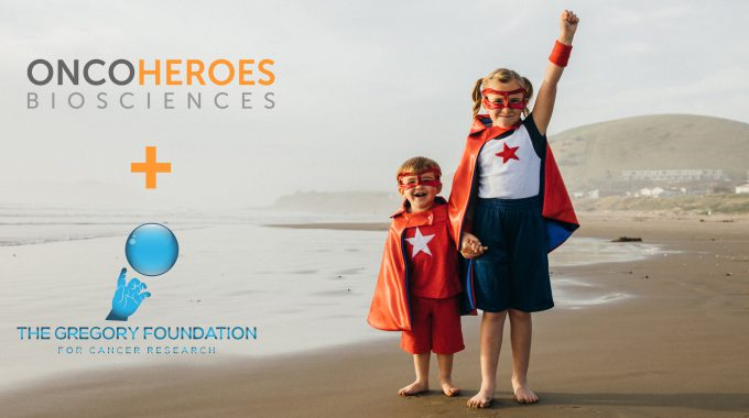 The Gregory Foundation for Cancer Research Joins Oncoheroes Biosciences to Defeat Childhood Cancer