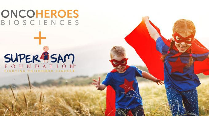 Oncoheroes Biosciences and Super Sam Foundation Walking Together for Pediatric Cancer Heroes